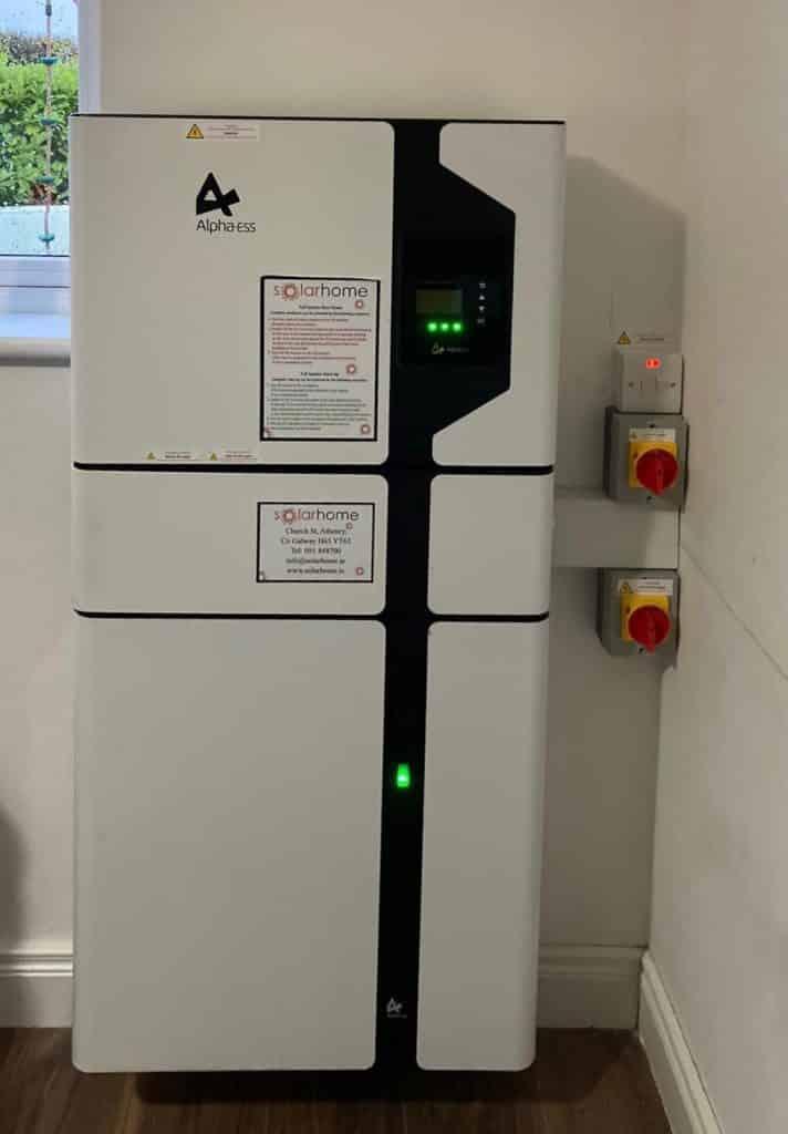 Alpha Battery System in Nurney, Co. Carlow