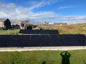 Solar PV Installation, Co. Galway, 1 year ago